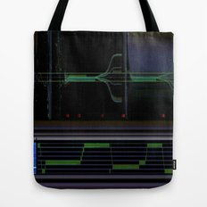 deep space sequencing Tote Bag