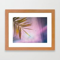 PinkPalm Framed Art Print