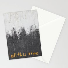 All this time Stationery Cards