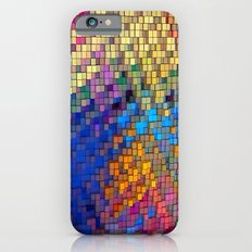 Wall Pattern 2 Colors by Nico Bielow iPhone 6 Slim Case