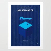 No323 My MULHOLLAND DRIV… Art Print