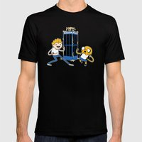 Finn And Jake's Excellen… Mens Fitted Tee Black SMALL