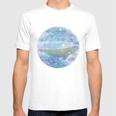Illustration Friday: Round Mens Fitted Tee White SMALL