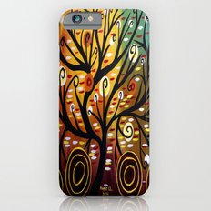 Abstract tree-9 Slim Case iPhone 6s