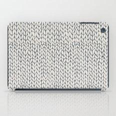 Hand Knit Grey iPad Case