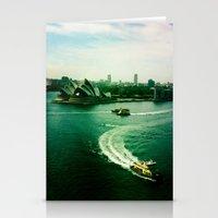 Sydney Harbour Opera Hou… Stationery Cards