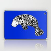 Blue Manatee Laptop & iPad Skin