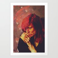 Afterimage Art Print
