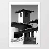 Spanish Flare Art Print