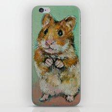 Hamster iPhone & iPod Skin