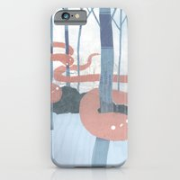 iPhone & iPod Case featuring Snakes in the Forest by Hyein Lee