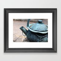 Tea Time, Anyone? Framed Art Print