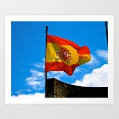 Viva España! Art Print