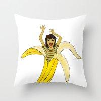 Fruit Phobia Throw Pillow
