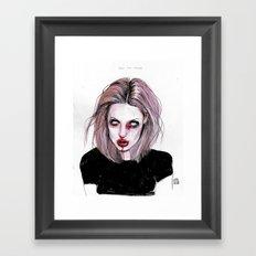 Angelina J Framed Art Print