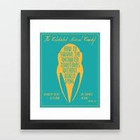 How to Survive the Uncharted Territories Without Really Dying Framed Art Print