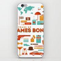 James Bond 50 Years  iPhone & iPod Skin