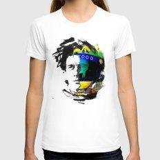 Ayrton Senna Do Brasil -… Womens Fitted Tee White SMALL