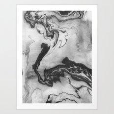 Hiroto - Ink Japanese Ma… Art Print
