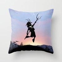 Loki Kid Throw Pillow
