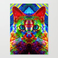 Sir Parker The Chromatic… Canvas Print