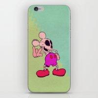 Mouse Skeleton iPhone & iPod Skin