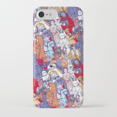 Space Toons in Color Slim Case iPhone 7