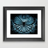 My Blue Butterfly Framed Art Print