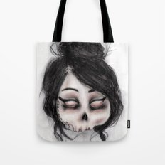 The inability to perceive with eyes notebook II Tote Bag