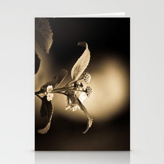Venus in Flowers Stationery Card