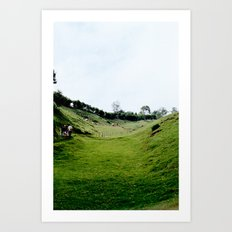 PLAINS Art Print