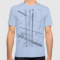 6a Mens Fitted Tee Athletic Blue SMALL
