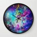 Fox Nebula Wall Clock