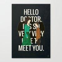 Hello Doctor Canvas Print