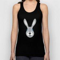 Forest Friends: Rabbit Unisex Tank Top