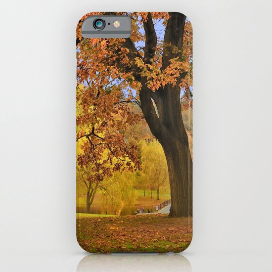 Fall at Larz Anderson iPhone & iPod Case
