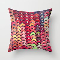 Sequin - JUSTART © , edited photography Throw Pillow