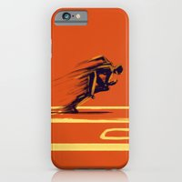 iPhone & iPod Case featuring Athlethic's Run by Enzo Lo Re