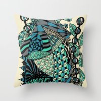 The Wind That Rocks The … Throw Pillow