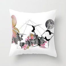 Magical Attack Throw Pillow