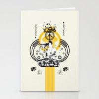 ki hamurai Stationery Cards