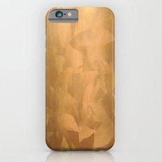 Brushed Copper Metallic iPhone 6 Slim Case
