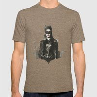 TDKR-catwoman II Mens Fitted Tee Tri-Coffee SMALL