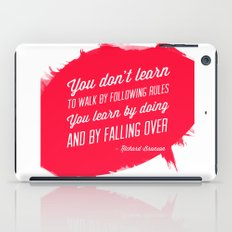 Richard Branson success quote iPad Case