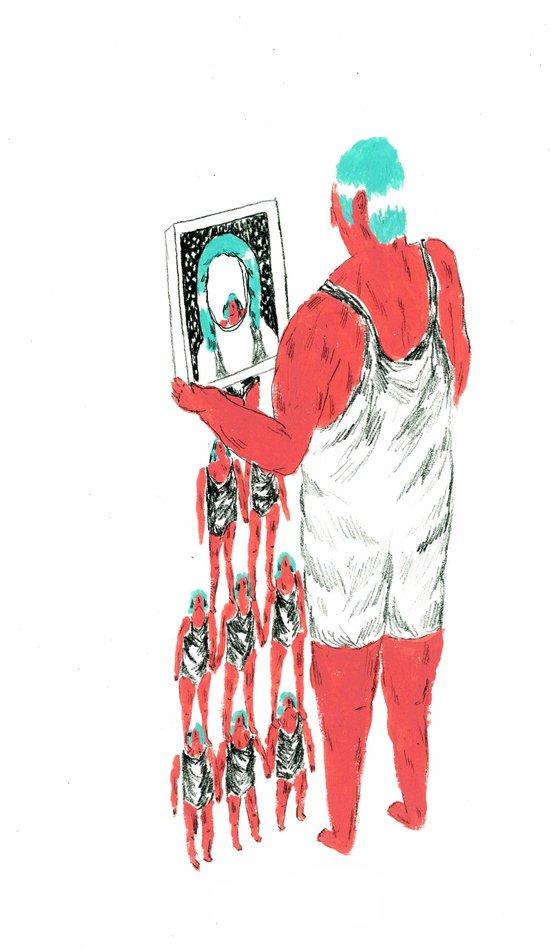 rebound girls Art Print