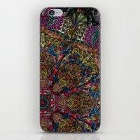 Psychedelic Botanical 9 iPhone & iPod Skin