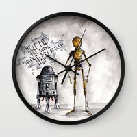 You're My Only Hope Wall Clock