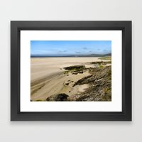 Luskentyre Beach Framed Art Print