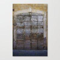 Door 4 Canvas Print