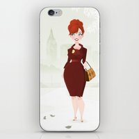 Joan Holloway iPhone & iPod Skin